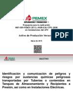 Cumplimiento a La Nrf 009 Pemex 2012