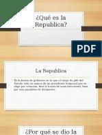 Diapositivas Sesión 2 Época Republicana 1