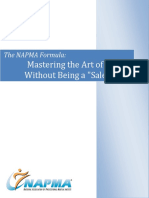 The NAPMA Formula -Mastering the Art of Selling Without Selling
