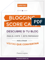 Blogging Score Card v1