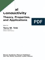 Thermal Conductivity Theory