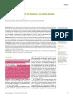 Modelo de FFEE Basado en Analisis Factoriales