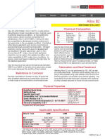 Alloy b 2 Data Sheet