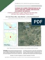 PUNZO DÍAZ, J. Et.al. 2015. Evidencia de Escorias de Cobre Prehispánicas en El Área de Santa Clara Del Cobre, Michoacán