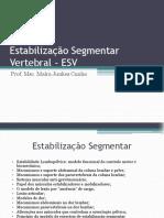 Estabilização Segmentar Vertebral - ESV