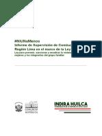 #NiUnaMenos Supervisión de Comisarías- Lima
