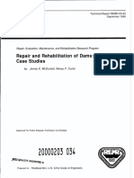 Repair & Rehab of Dams - Case Studies COE