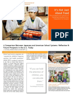 food service article-japanese school system