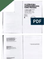 Ana Pizarro Comp 1985 La Literatura Latinoamericana Como Proceso