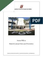 Manual Pgenet