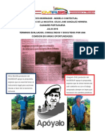 Propuesta  de Ordenanza de Desarrollo Endogeno Agricultura Urbana Periurbana y Rural Desarrollo Economico