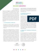 Resumen Ejecutivo Modelo Educativo