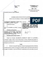 Grassroots Alhambra lawsuit regarding Lowe's development