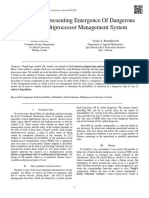 GL-Model, Representing Emergence of Dangerous State in Multiprocessor Management System