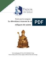 La dévotion à travers le culte des reliques de saints.pdf