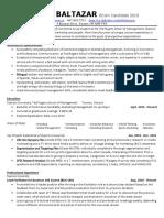 marco baltazar - resume