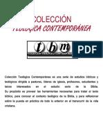 TEOLOGICA CONTEMPORANEA CLIE