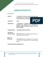 0.1 Memoria Descriptiva Huallhua riego tecnificado