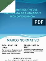 Farmaco y Tecnovigilancia