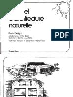 extrait  Manuel d Architecture Naturelle