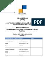 Mep 10201 Gpr Pe Xxx Procedimiento Levantamiento de Observaciones
