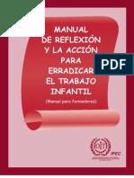 Manual de reflexión y la acción para erradicar el trabajo infantil
