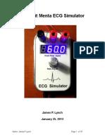 Adafruit Menta - ECG Simulator