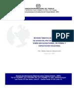 Revisión temática de los programas de acción de Colombia y Perú