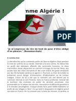 A Comme Algérie