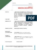 2.0 Memoria Descriptiva Codigo SNIP 343951