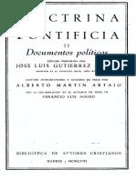 BAC Doctrina Pontificia 2-Documentos Políticos