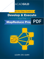 Develop & Execute Your First MapReduce Program