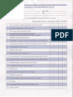 vanderbilt adhd diagnostic teacher rating scale without scoring