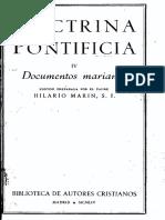 BAC Doctrina Pontificia 4-Documentos Marianos