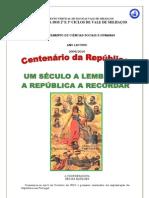 Projecto de comemoração do centenário da 1.ª República - EBVM