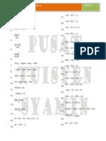 Algebraic Expression II