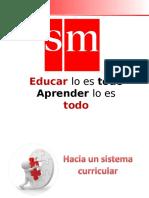 Sistema Curricular Rutas_mapas de Progreso