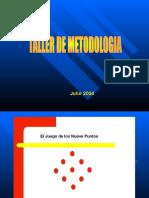 Taller de Metodologia