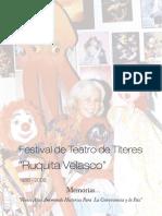 Memorias Festival de Titeres