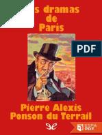 Los Dramas de Paris - Pierre Alexis Ponson Du Terrail