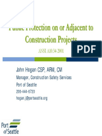 Construction Project ANSI A10.34 General Session 7 - John Hogan
