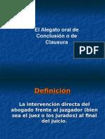 Dr. Rodolfo Socla - Alegato Oral de Conclusión o Clausura