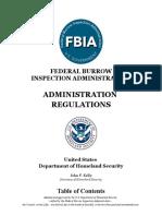 fbia administration regulations