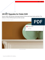 100 DIY Upgrades for Under $100 _ This Old House