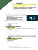 Resumen Farmacología - Farmacocinética