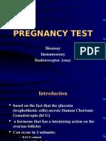 3. Pregnancy Test