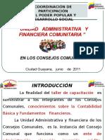 TALLER Contabilidad de Los Consejos COMUNALES 2017