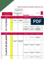 Matriz IPERC-Planta Moly-Filtros V01