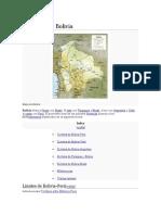 Fronteras de Bolivia