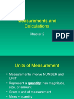 Ch 2 Measurement Nts